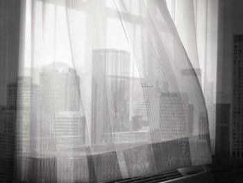 curtains city skyline