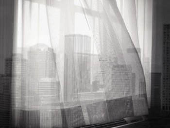 curtains city skyline
