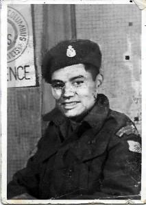 Private Frank Joseph Gray – WW2
