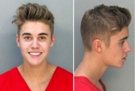 Bieber Mug Shot 1-22-14