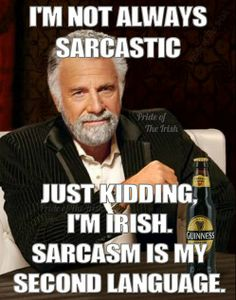 Irish Sarcastic