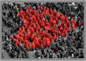 people heart red