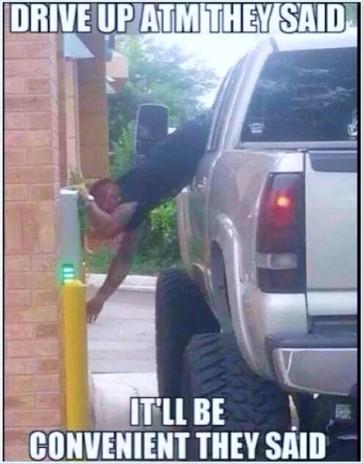 ATM convenience