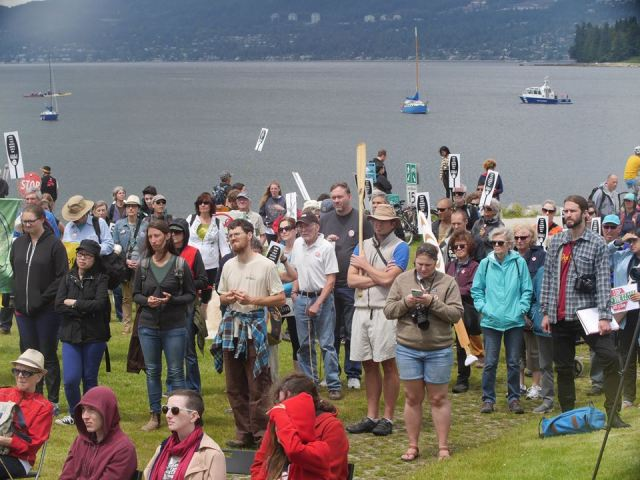 site c protest july 9