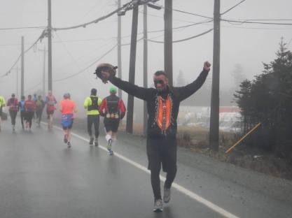 The final kilometers into St John's, NFLD