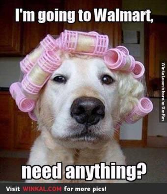 Walmart need anything